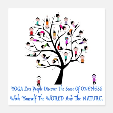 Yoga Connect World to Nature. - Poster