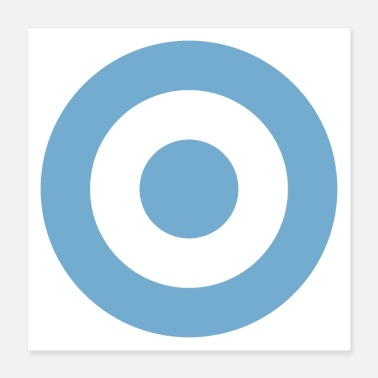Proud Argentine Air Force Roundel - Poster