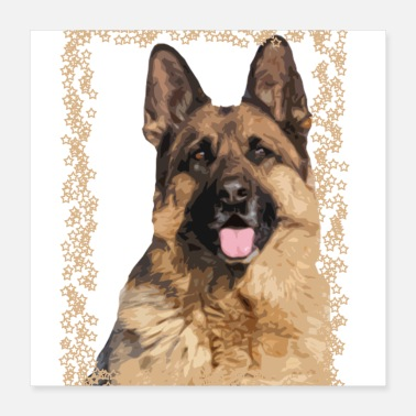 German German Shepherd - Poster