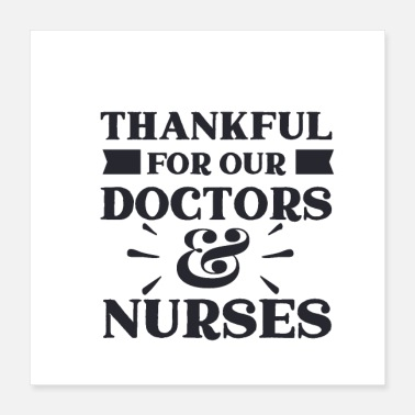 Virus Thankful for our Doctors - Poster