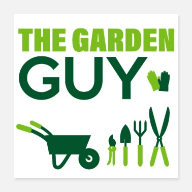 Cannabisleaf The Garden Guy - Poster