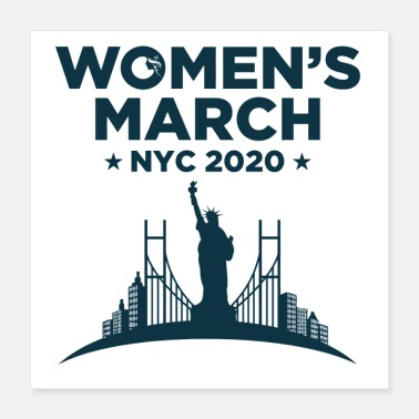 Chicago Women s March New York 2020 - Poster