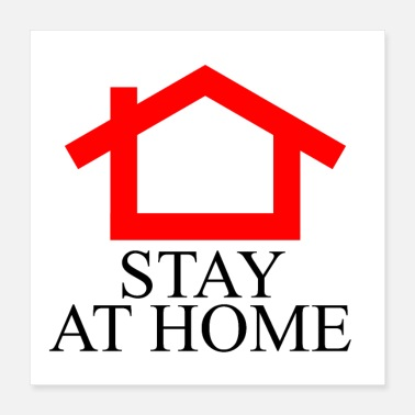 Homepage Stay at Home - Poster