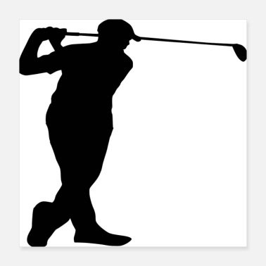 Golf Swing Golf Birthday shirt, golf party, golf birthday, bo - Poster