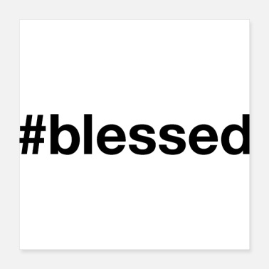 Church BLESSED - Poster