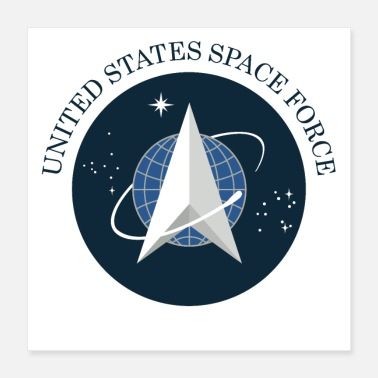 United States united states space force - Poster