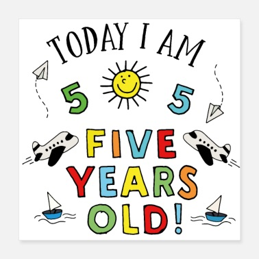 Years Old five years old - Poster