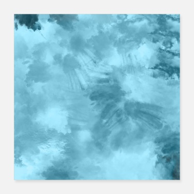 Paint Brush Poster Wallpaper Abstract Art Paint Brush Painting - Poster