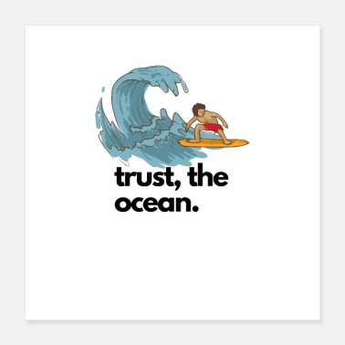 Thesis trust the ocean - Poster