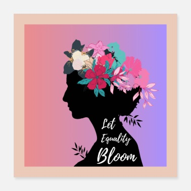 Marriage Equality Let Equality Bloom - Poster