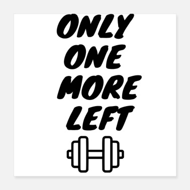 only on more left - Poster