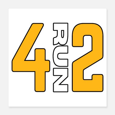 412 Pittsburgh 412 Runners Gifts - Poster