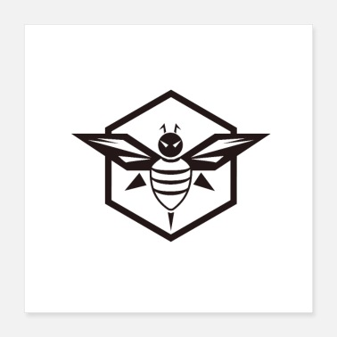 Bee Hive bee icon - Poster