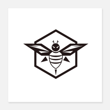 Icon bee icon - Poster
