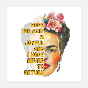 Tragedy Frida Kahlo Quotes - Poster
