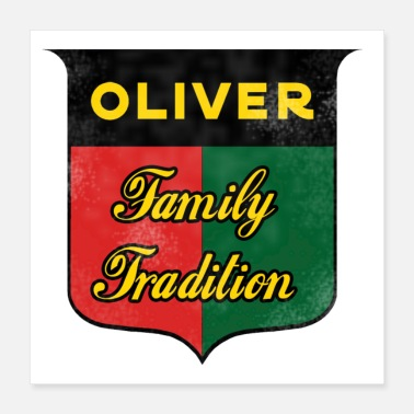 Tradition Oliver Family Tradition - Poster