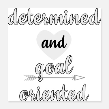 Startup determined and goal oriented - Poster