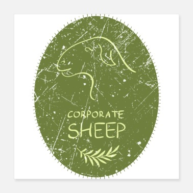 Corporate Corporate Sheep Design - Poster