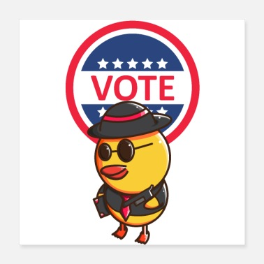 Dictator Vote Duck - Poster