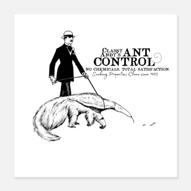 Andy Classy Andy's Ant Control - Poster