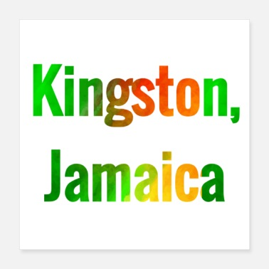 Jamaica Kingston Jamaica - Poster