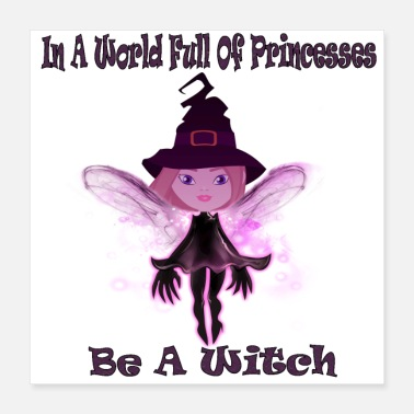 Witch be a witch - Poster