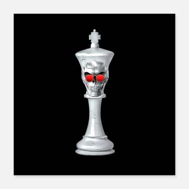 Chess Chess king - Poster