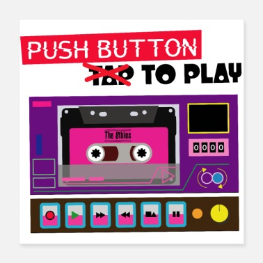 Deejay Push Button - Poster