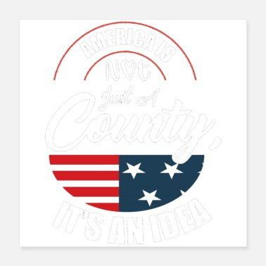 Country American country - Poster