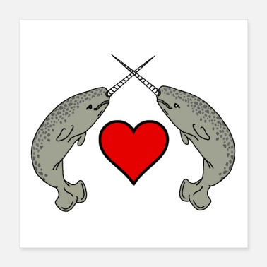 Narwhal Narwhal Love - Poster