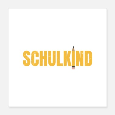 First Graders Schoolbeginner Schulkind First Grader Gift Idea - Poster