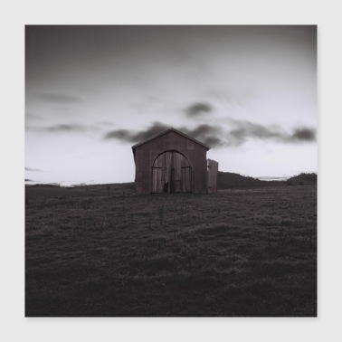 Grass shed - Poster 16x16
