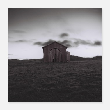 Meadow shed - Poster 16x16