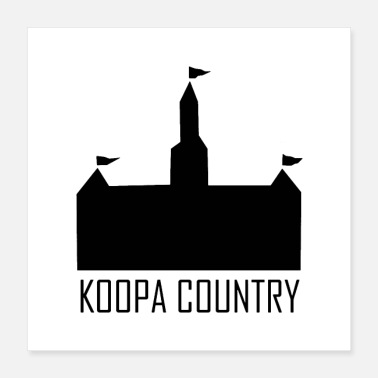 Country Koopa Country - Poster