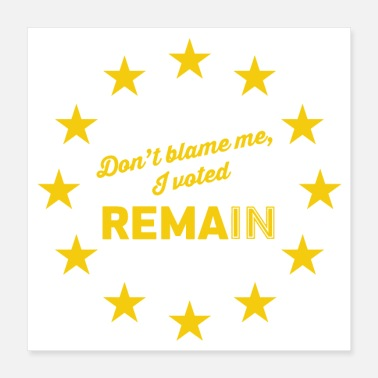 Eu Peoples Vote Remain in EU - Poster