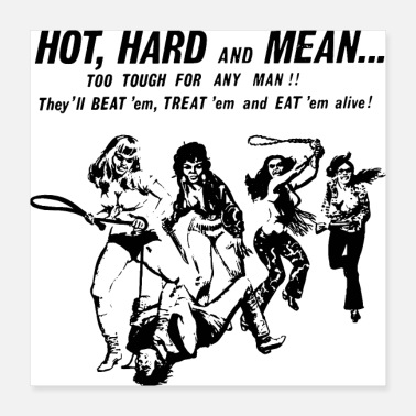 Sex HOT HARD MEAN - Poster