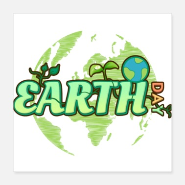 Switch Off Earth Day Green World Environment T-Shirt - Poster