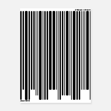 Credit Barcode - checkout! - Poster