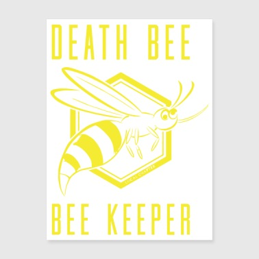 Death Bee Bee Keeper - Poster 18x24