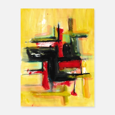 Painting abstract painting t-shirt | abstract painting - Poster