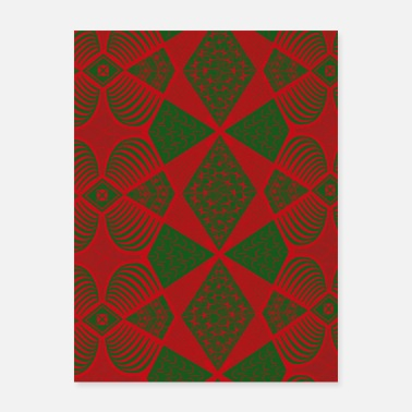 Cirrus Beautiful seamless ornamental pattern - Poster