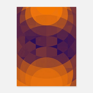 Graphic Design Geometric graphic design - Poster
