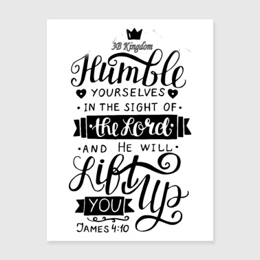 humble yourself - Poster 18x24