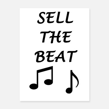 Sheet Sell the beat - Poster