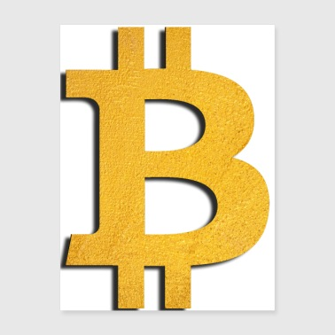bitcoin gold - Poster 18x24