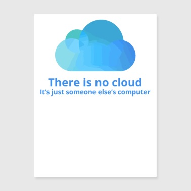 there is no cloud - Poster 18x24
