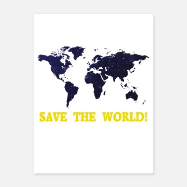 Save Save the World! - Poster