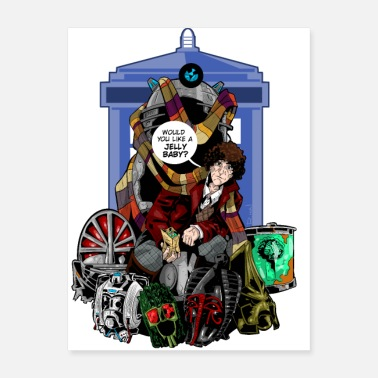 The Doctor The Fourth Doctor - Poster