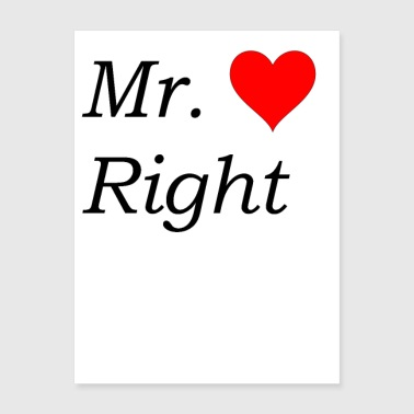 Mr. Right - Poster 18x24