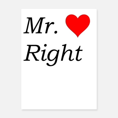 Right Mr. Right - Poster